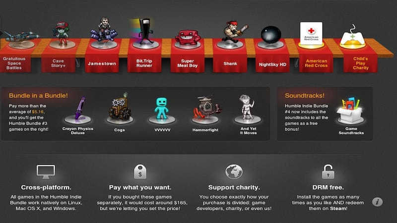 The Humble Indie Bundle Gets Bigger, Better, and Therefore Less Humble