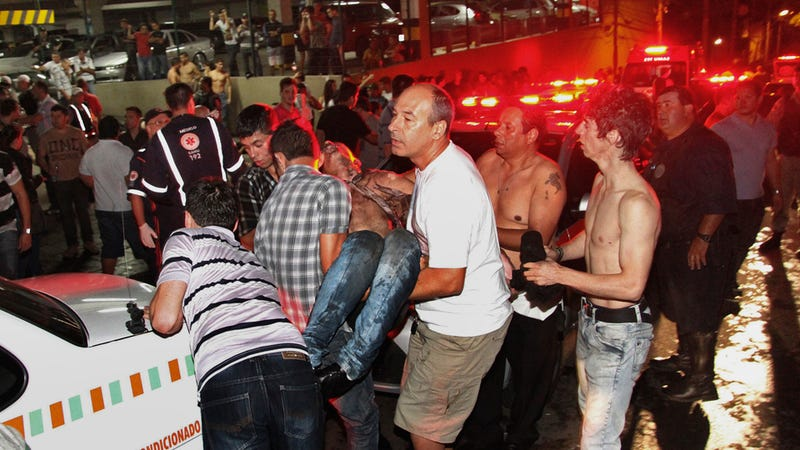 Horrifying Images from the Brazilian Nightclub Fire