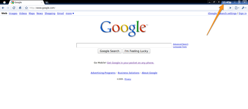 First Glimpse at What the Chrome Browser May Look Like in Chrome OS