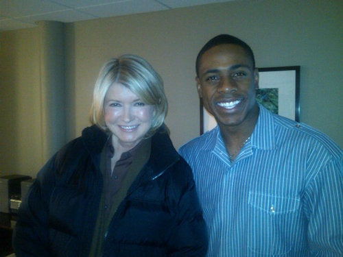 Because If You Send Us A Photo Of An Athlete With Martha Stewart, We're Gonna Post It