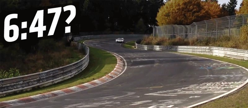 Did The McLaren P1 Get Beaten At The Nürburgring?
