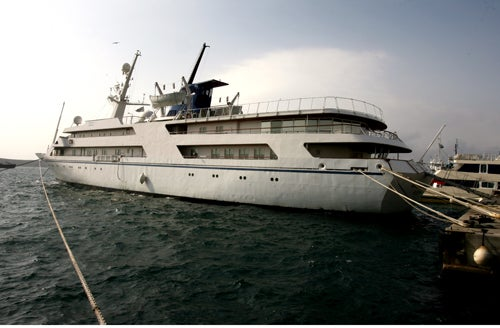 Saddam Hussein's Yacht Takes the Long Way Home