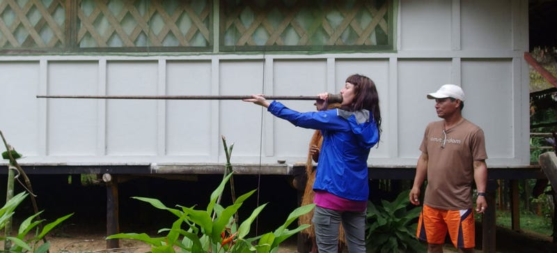 Into The Amazon: Boats, Breakfast And Blowguns