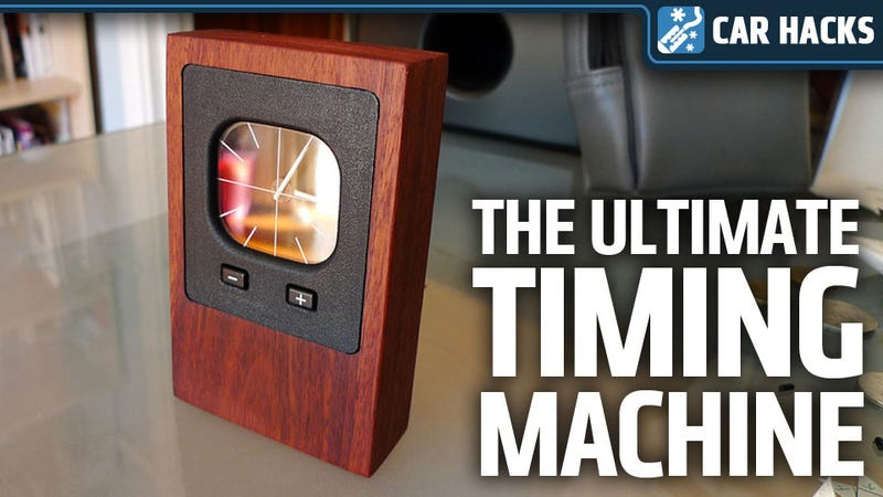 How To Make A Retro Desk Clock Out of An Old Car Clock