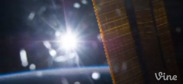 Astronaut Captures A Never-Setting Sun In The First Vine From Space