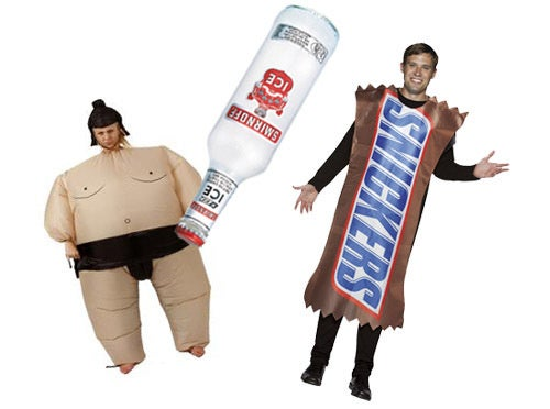 Lady in Sumo Suit Bludgeoned Ex with Smirnoff Ice for Flirting with Man Dressed as a Candy Bar
