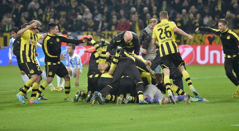 How Dortmund Announced Their Arrival As Europe's Most Exciting Team