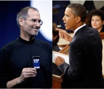 Barack Obama's 'Laws' vs. Steve Jobs' Wonder Tablet
