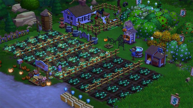 FarmVille 2 Goes Dark for Halloween