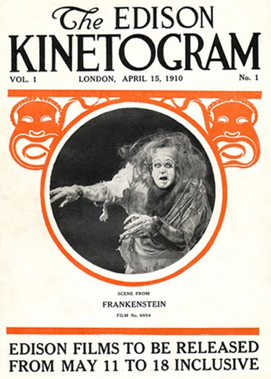 The first Frankenstein of the movies