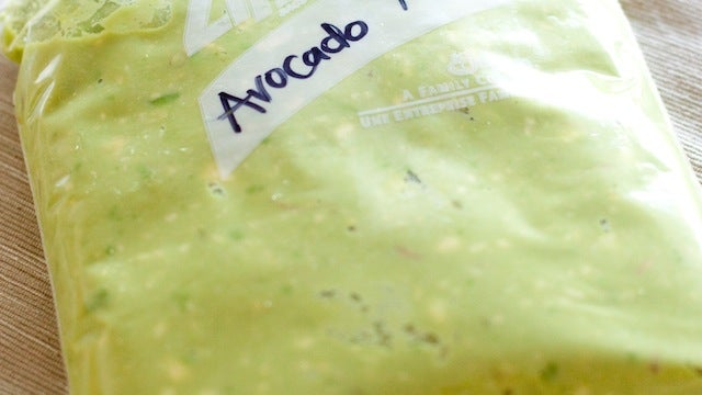 Preserve Avocados for a Year by Mashing and Freezing Them