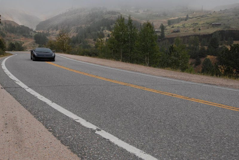 Lamborghini Gallardo Journey: Travel Photos