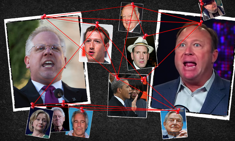 Your Gawker Guide to the Glenn Beck-Alex Jones Right-Wing Conspiracy Theory Beef