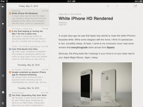 Reeder Is Coming to Claim the iPad RSS Crown