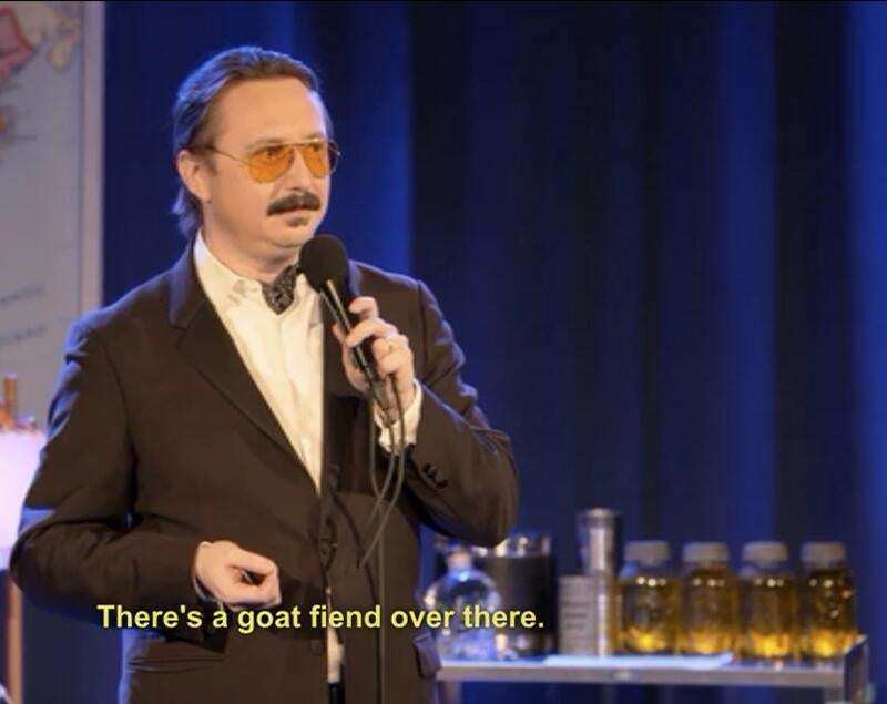 John Hodgman explains the end of the world to you