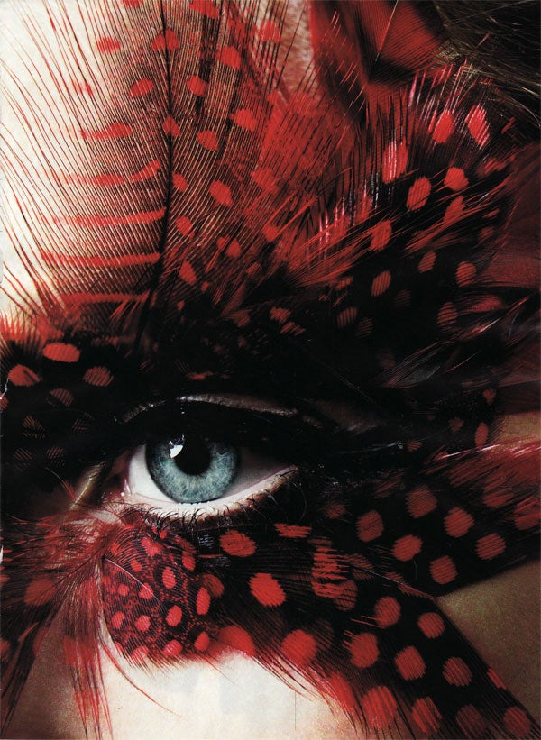 September Harper's Bazaar: Let's Go To The Rodeo With Feathers On Our Faces!