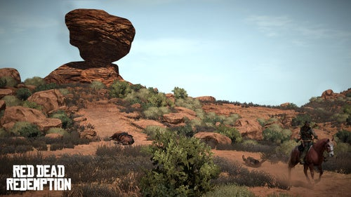Red Dead Redemption Screens Feature Actual Cowboy Action