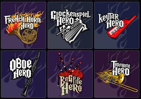 Band Geek Hero Shirts Proclaim You King of the Keytar