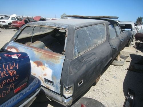 1969 Chevrolet Nomad Wagon Down On The California Junkyard