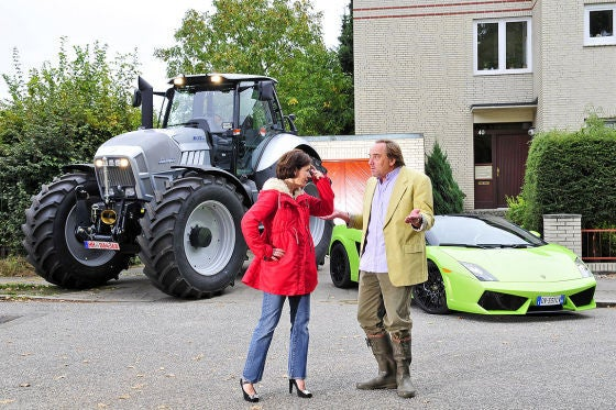 The Big Lamborghini Face-Off: Roadster vs. Tractor
