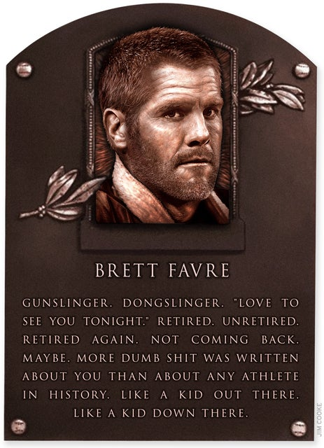 Deadspin Hall Of Fame Inductee: Brett Favre