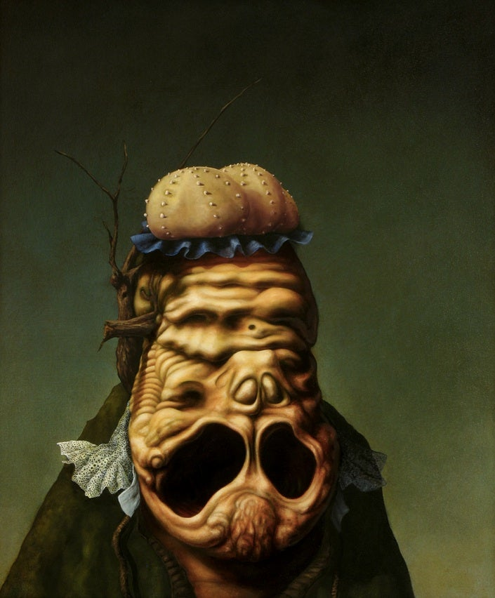 Grotesque Portraits of Aristocrats from Another Dimension