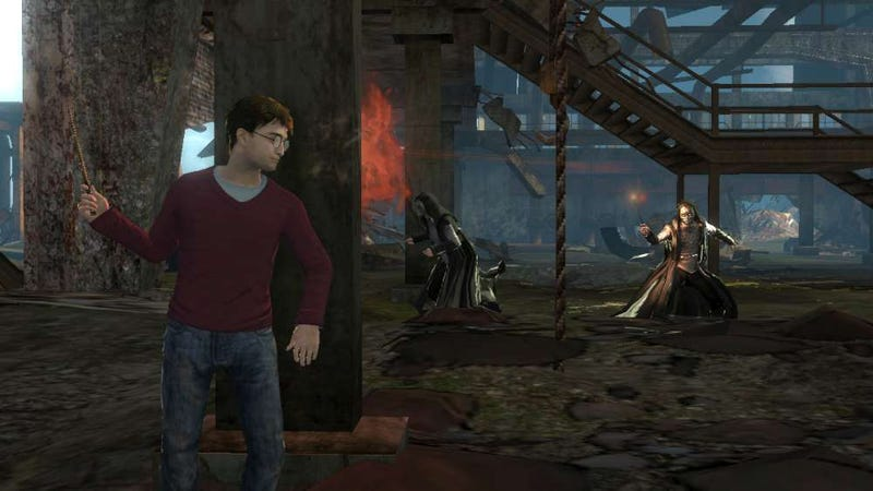 Latest Harry Potter Video Game is a Third Person Shooter?
