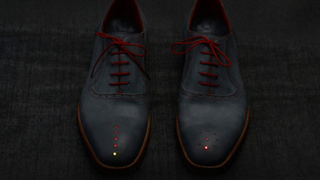 These Shoes Guide You Home Using GPS, However Lost You Are