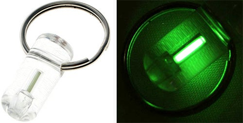 Radioactive Tritium Makes Keychain Light Glow For 10 Years