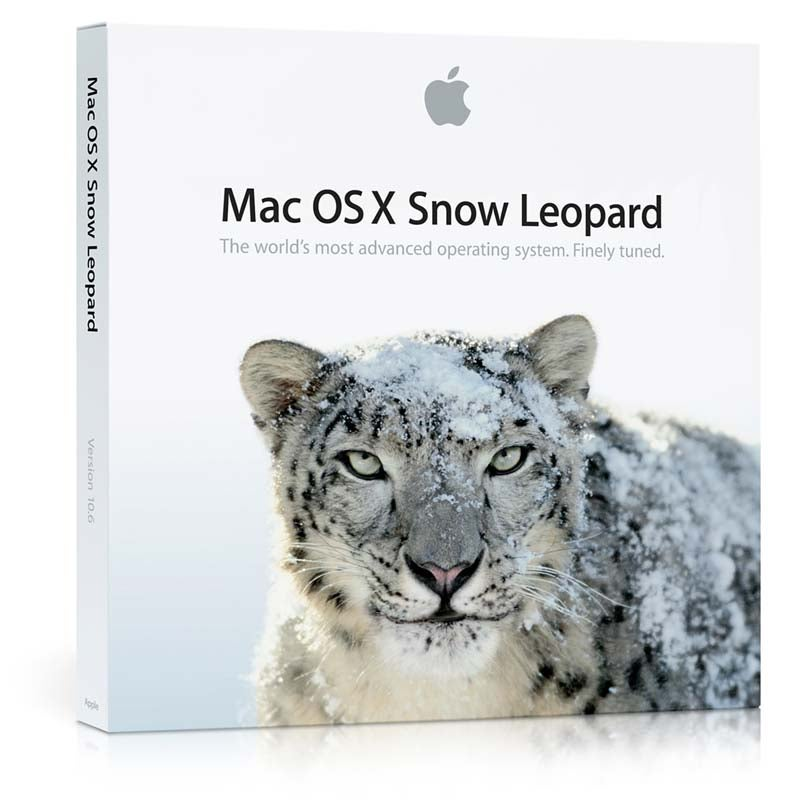 Snow Leopard Shipping August 28th