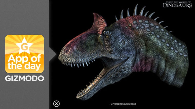 Inside the World of Dinosaurs: Dino Fights on Your iPad