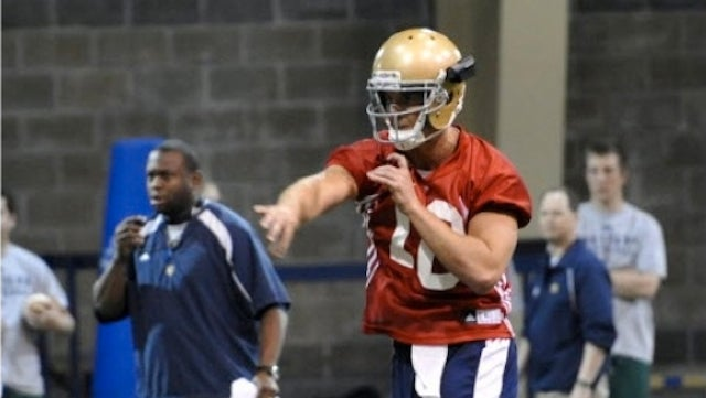 Notre Dame To Peer Into Quarterbacks' Retinas With The HelmetCam