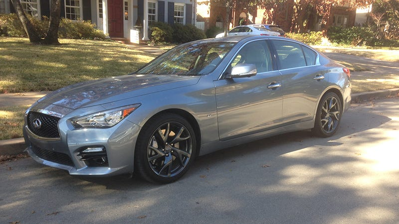 What It's Like To Drive Infiniti's Crazy Drive-By-Wire Steering Tech