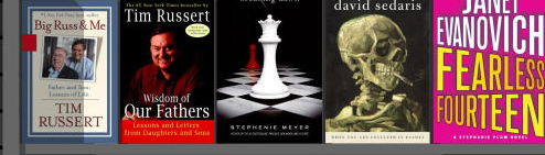 Zoomii Browses Amazon Books Shelf by Shelf