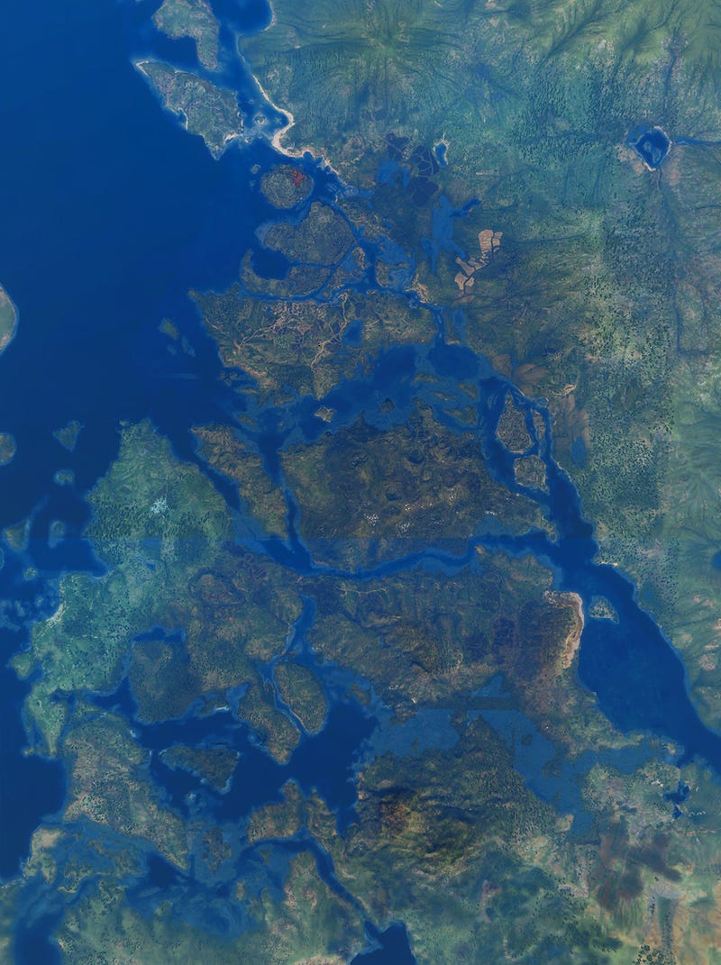 The Witcher 3 Aerial Shots Are Like Satellite Photos