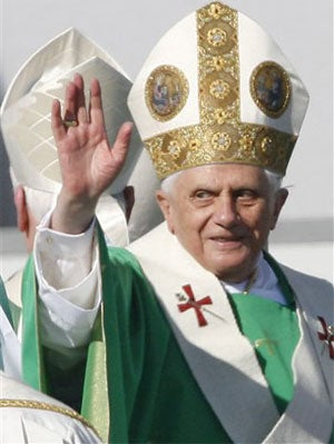 Pope Benedict XVI May Have Career In Fashion If This Catholicism Thing Doesn't Work Out