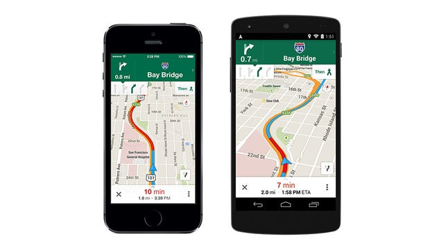 Google Maps mejora los mapas offline y la navegación en iOS y Android