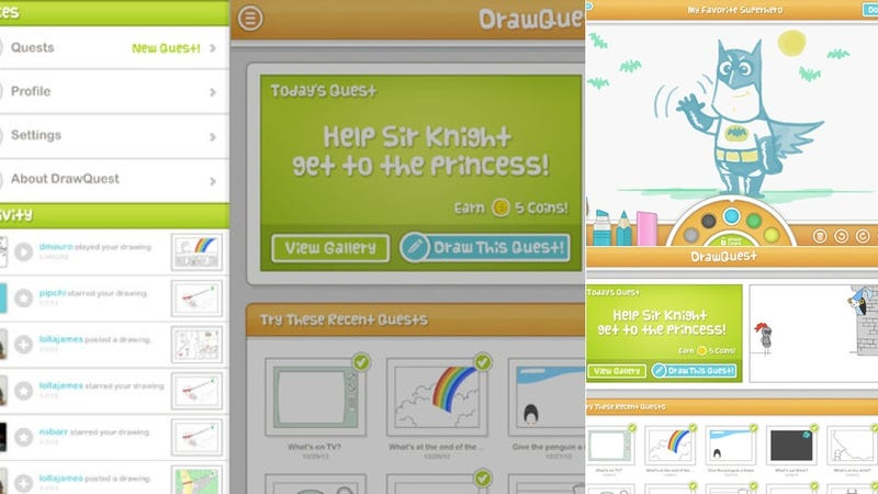 DrawQuest, Map of the Internet, and More