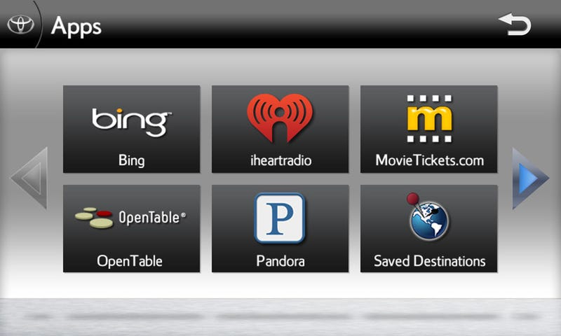 Entune Brings Pandora, Bing Search To Toyota