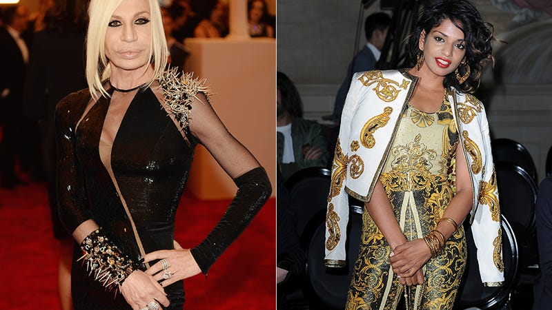 The Donatella Versace/M.I.A. Collabo Sounds Insane, Confusing, Awesome