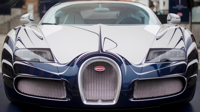 The Bugatti Veyron L'Or Blanc is a $2.3 million tea set