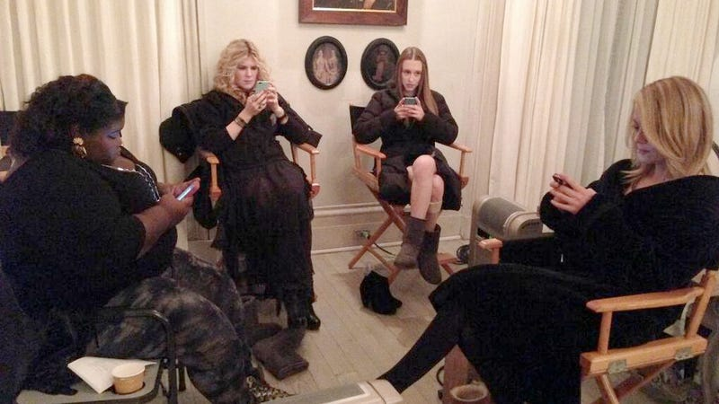 The Witches of Coven Look a Little Preoccupied