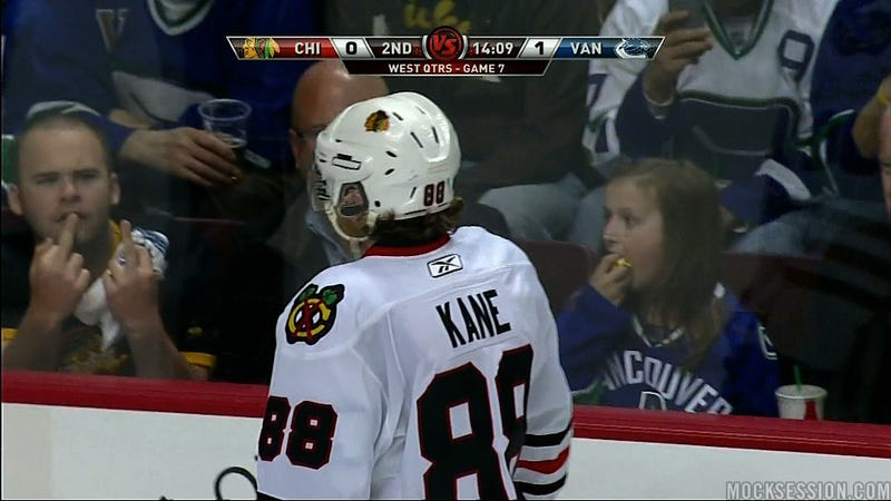 Patrick Kane Needs A Drink