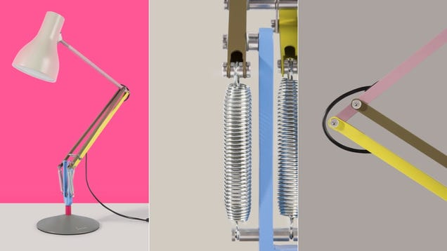 Paul Smith's Take on the Anglepoise Is a Brilliant Riot of Color