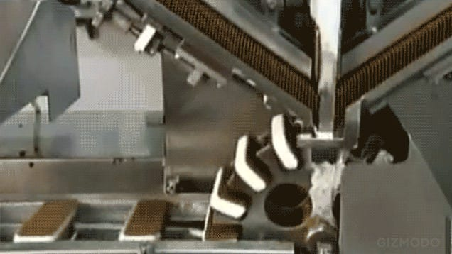 I Can't Stop Watching This Ice Cream Sandwich Factory