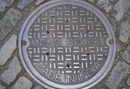 Teenager Falls Into Open Manhole While Texting
