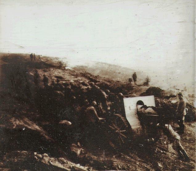 Rare 3D Camera Found Containing Photos from WWI