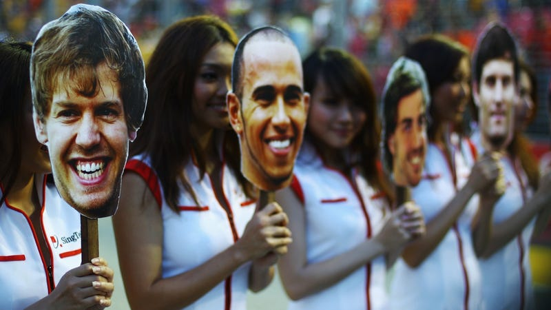 Pictures from the 2011 Singapore Grand Prix