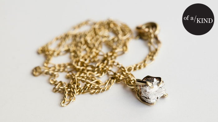 Wear This Mixed-Metal Necklace With Everything (No, Seriously)