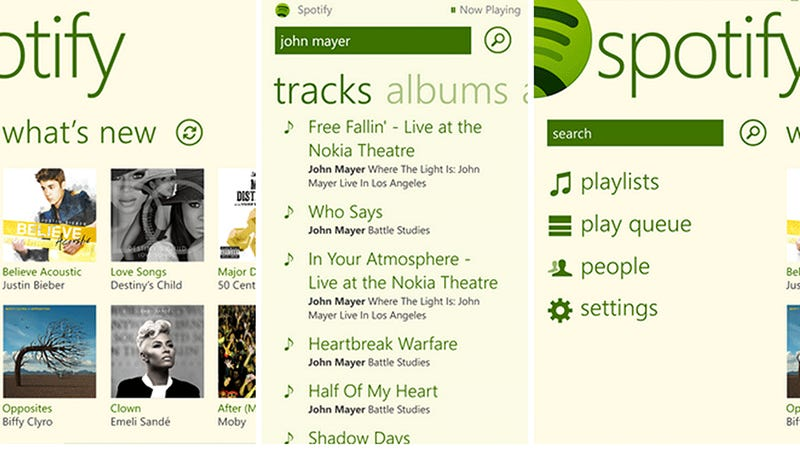 Spotify Is Finally on Windows Phone 8